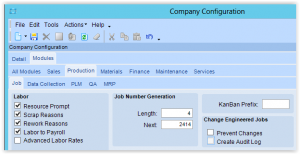 Epicor ERP – Adding Material to a Job from a PO