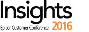 Epicor Customer Conference – Insights 2016